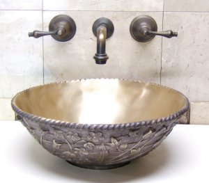 unusual bathroom sinks with bowl
