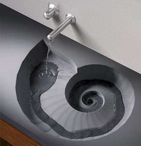 unusual shaped bathroom sinks