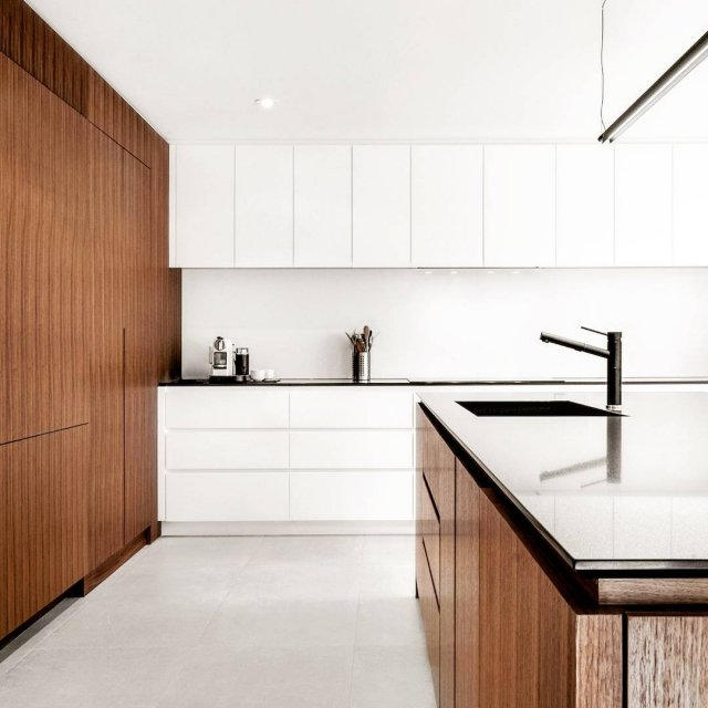 Minimalistic kitchen in Canada Credit By Design Milk minimalism kitchenhellip
