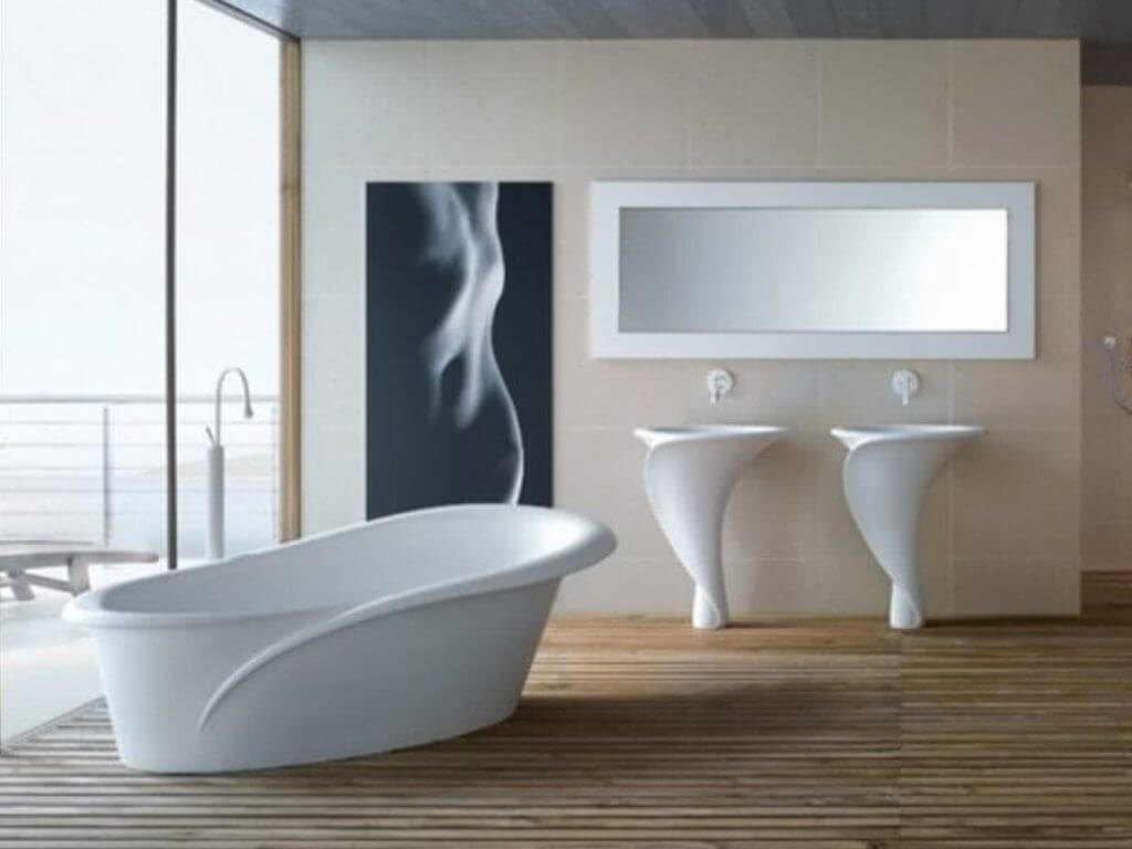 How to design bathroom by latest hot trends interior for Newest trends in bathroom remodeling