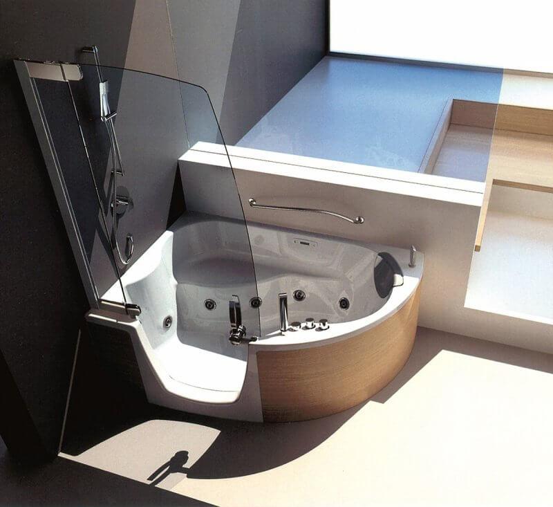 non standard tub
