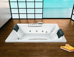 Rectangular bath
