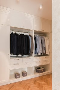 Big bedroom wardrobe