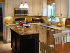 Kitchen island for small space