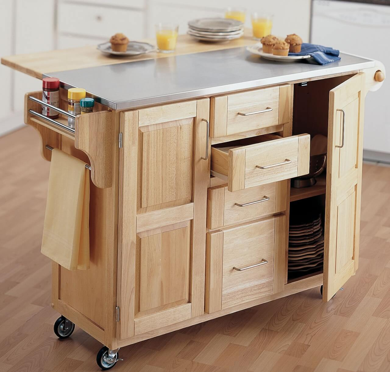 Rolling Island For Kitchen: Kitchen Island Are More Practical Than Kitchen Bars