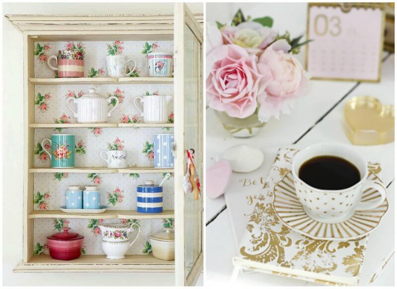 Shabby chic in details
