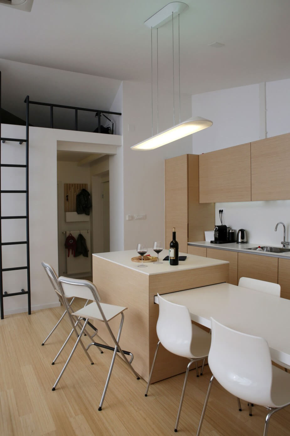 Kitchen Island With Pullout Board