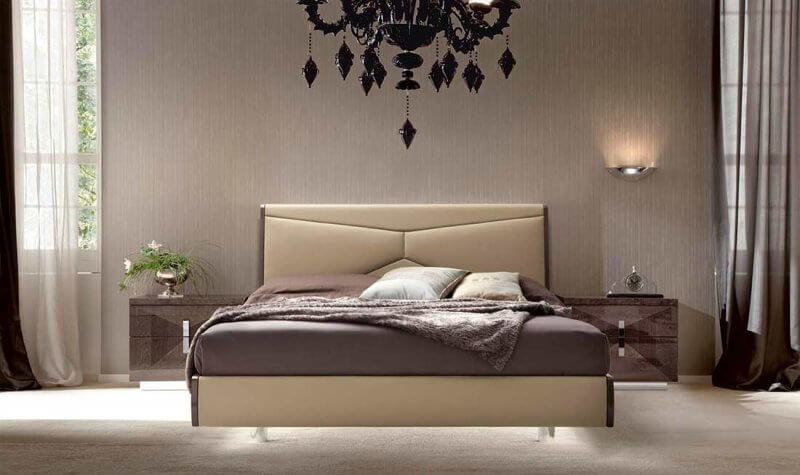 Eco leather headboard