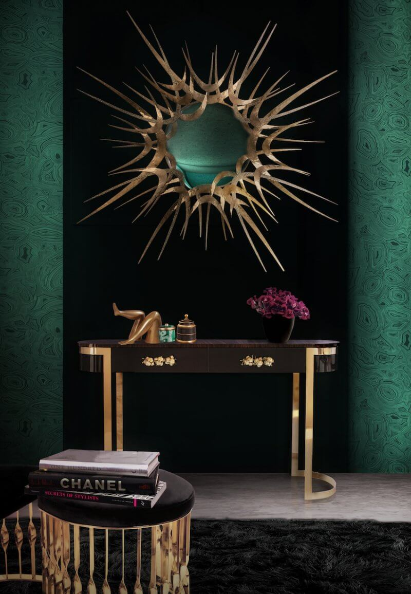 Extravagance wall mirrors