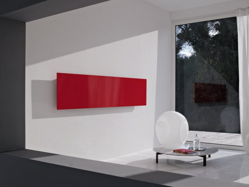 Horizontaly Square radiators