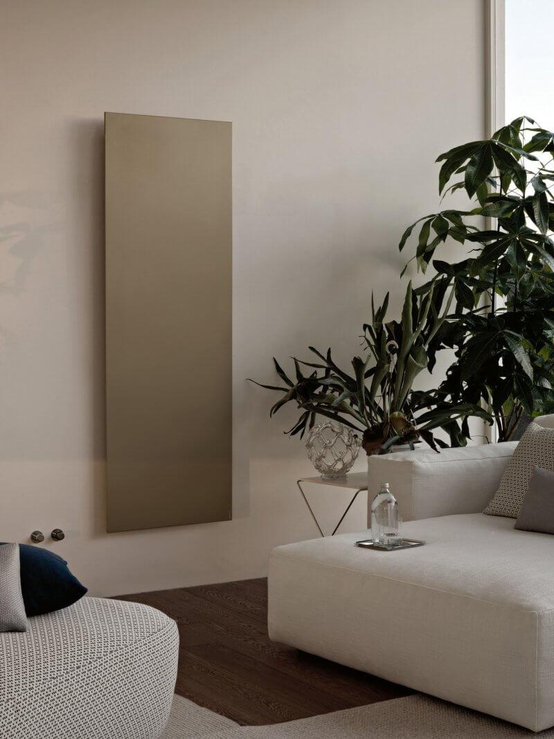 Square radiators design