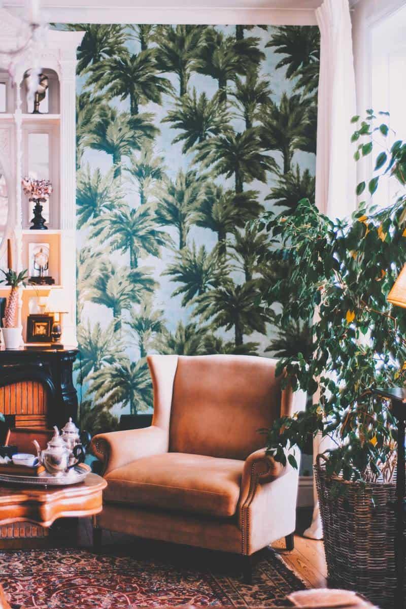 A cute corner in the style of Latin America