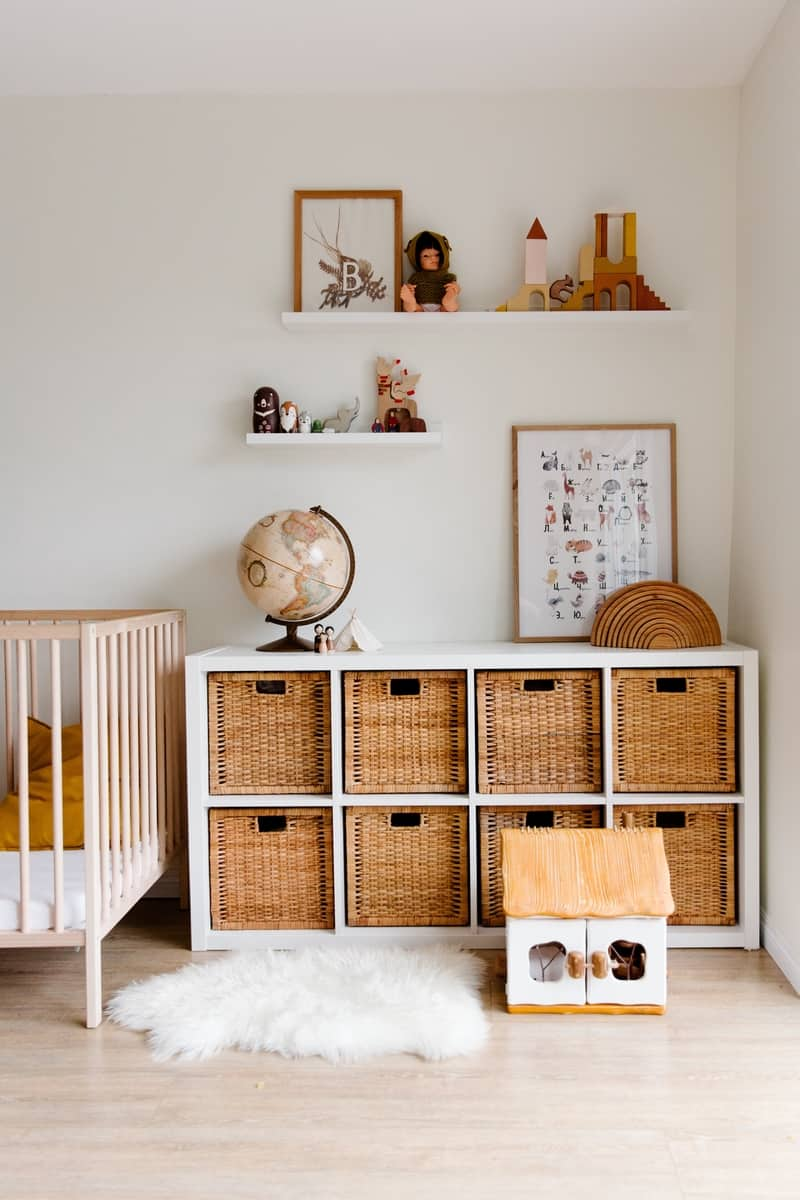 A room for a child inspired by Africa