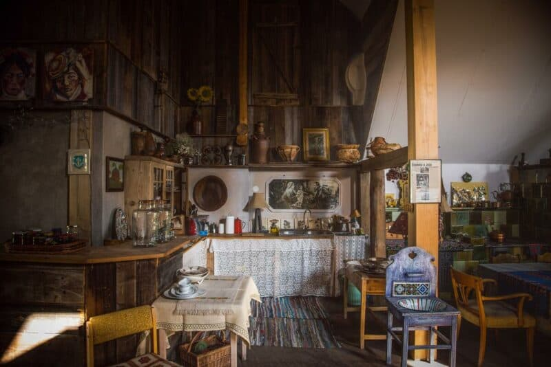 Kitchen in traditional style of Latin America