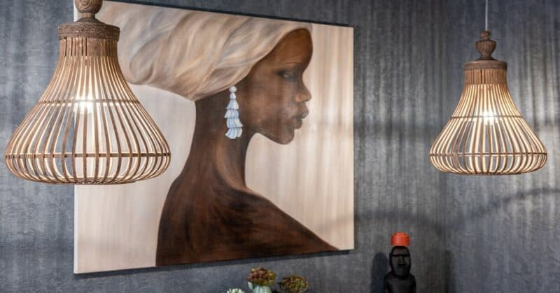 African-inspired home furnishing
