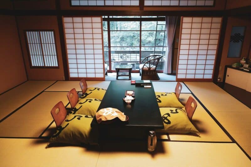 The real Asian style - tatami room