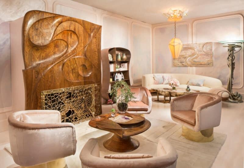 Art Nouveau living room