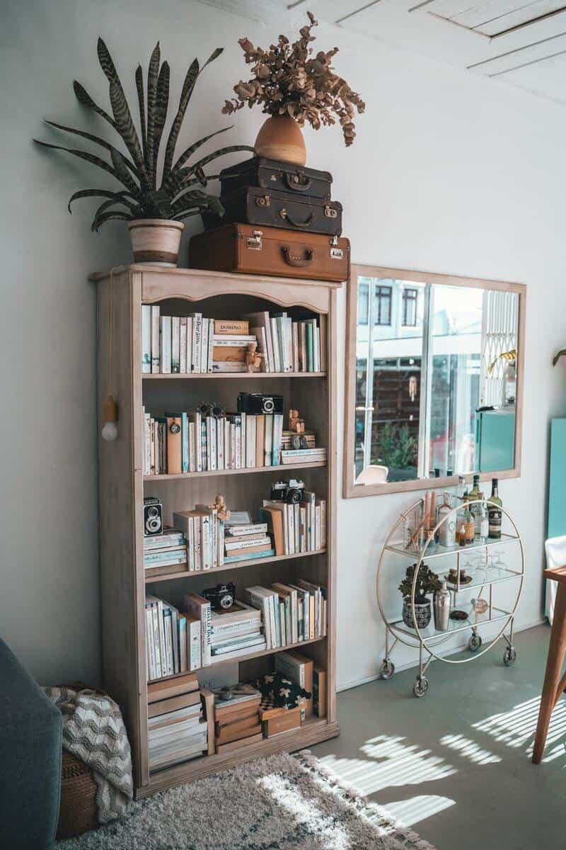 A beautiful corner in a living room