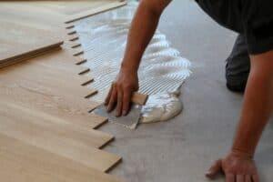 Renovate the floor