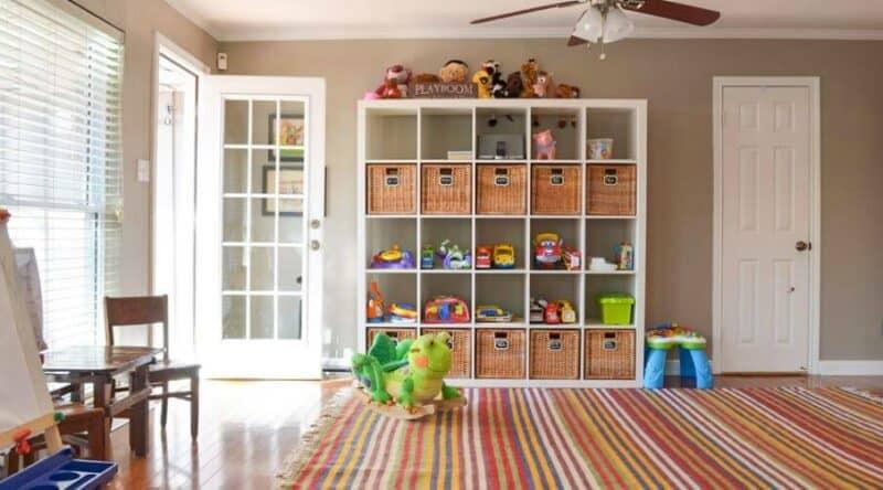 Room storage idea